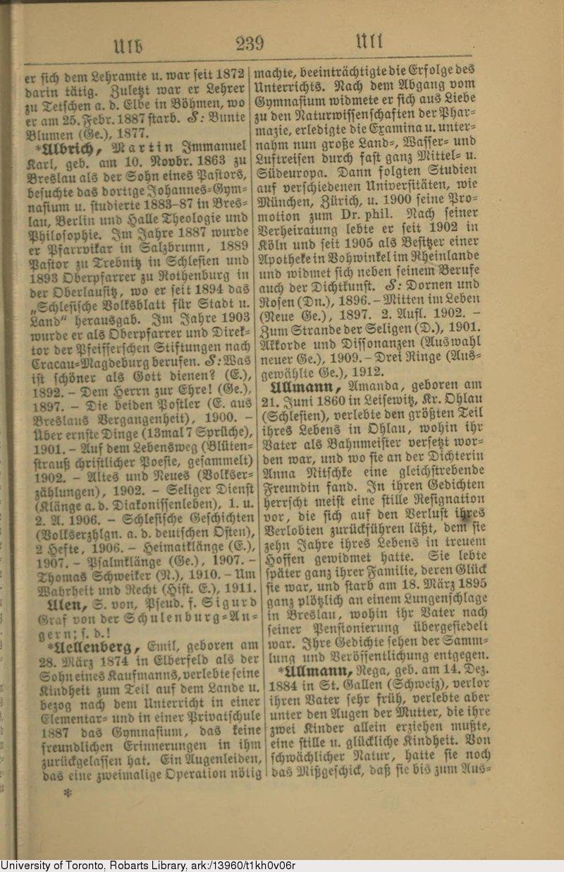 Deutsches Textarchiv Brümmer Franz Lexikon Der Deutschen
