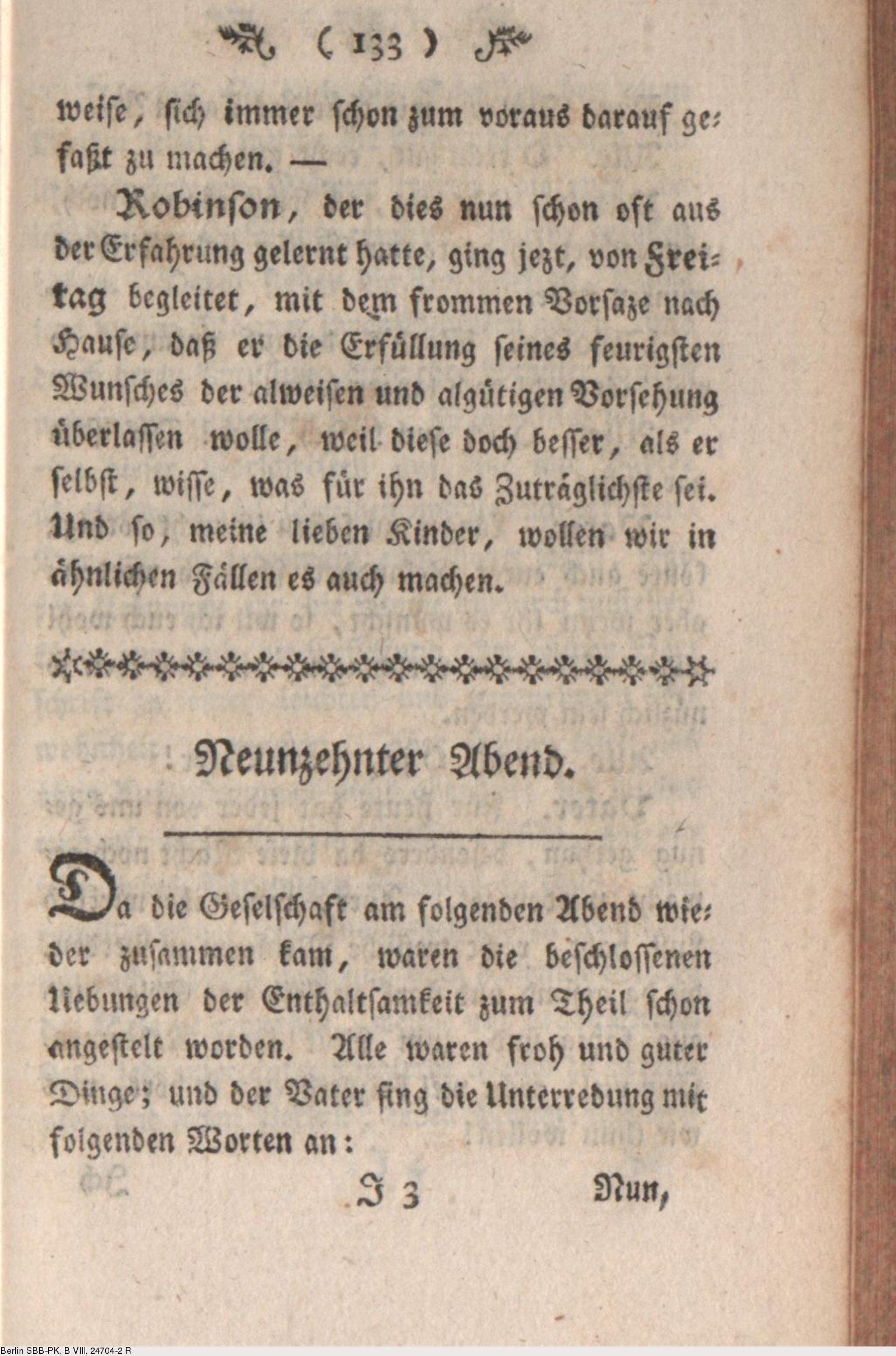 Deutsches Textarchiv – Campe, Joachim Heinrich: Robinson der Jüngere ...