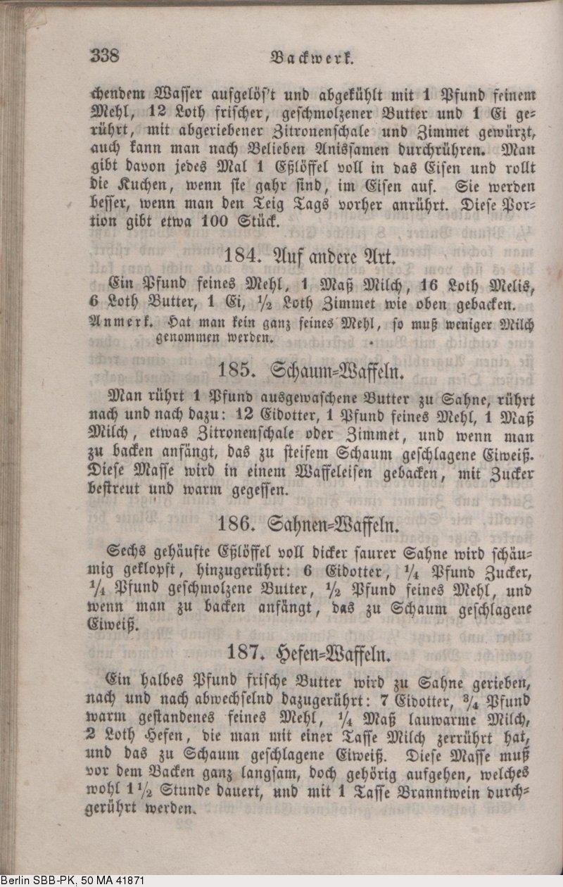 Deutsches Textarchiv – Davidis, Henriette: Praktisches Kochbuch für ...