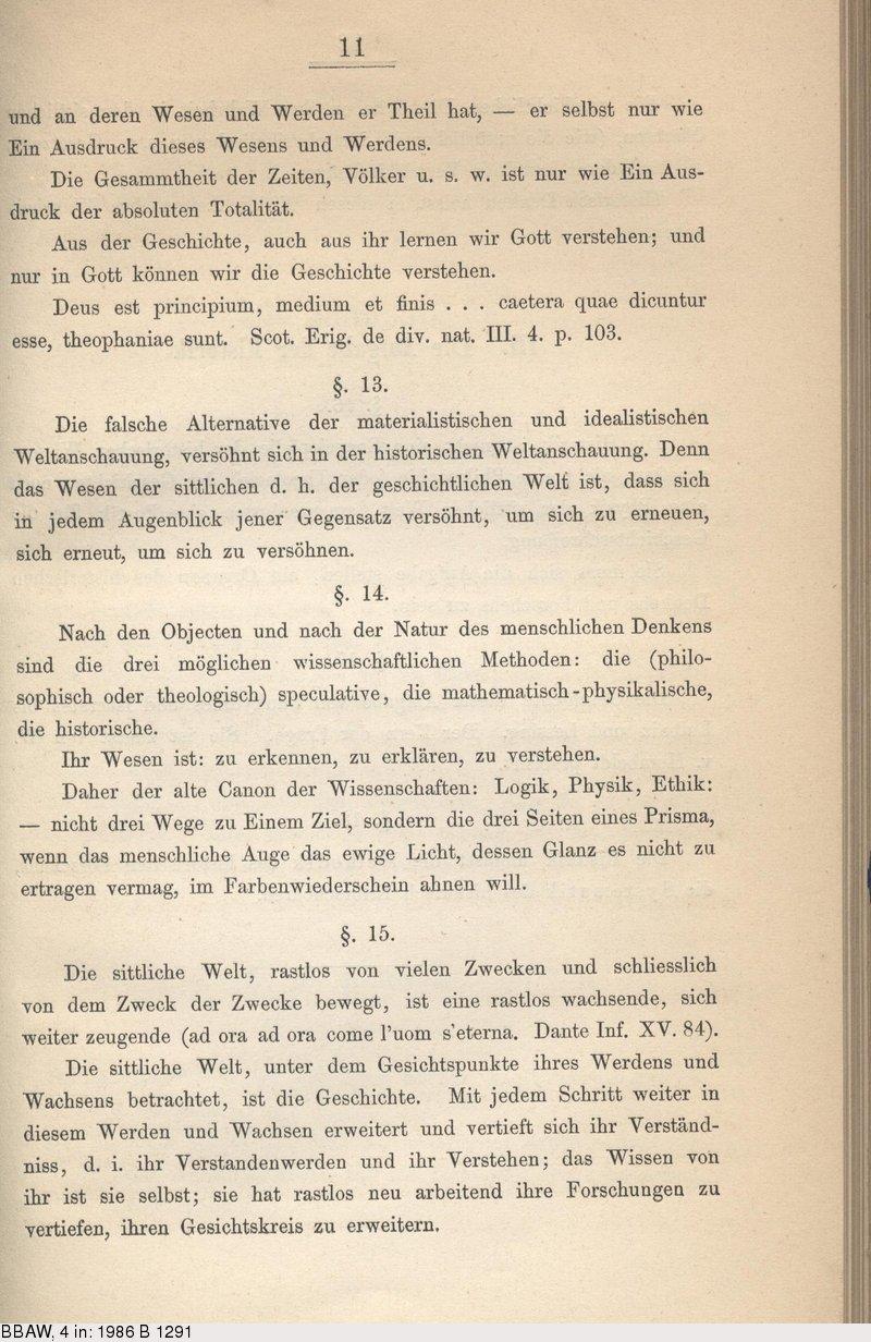 Deutsches Textarchiv – Droysen, Johann Gustav: Grundriss der ...