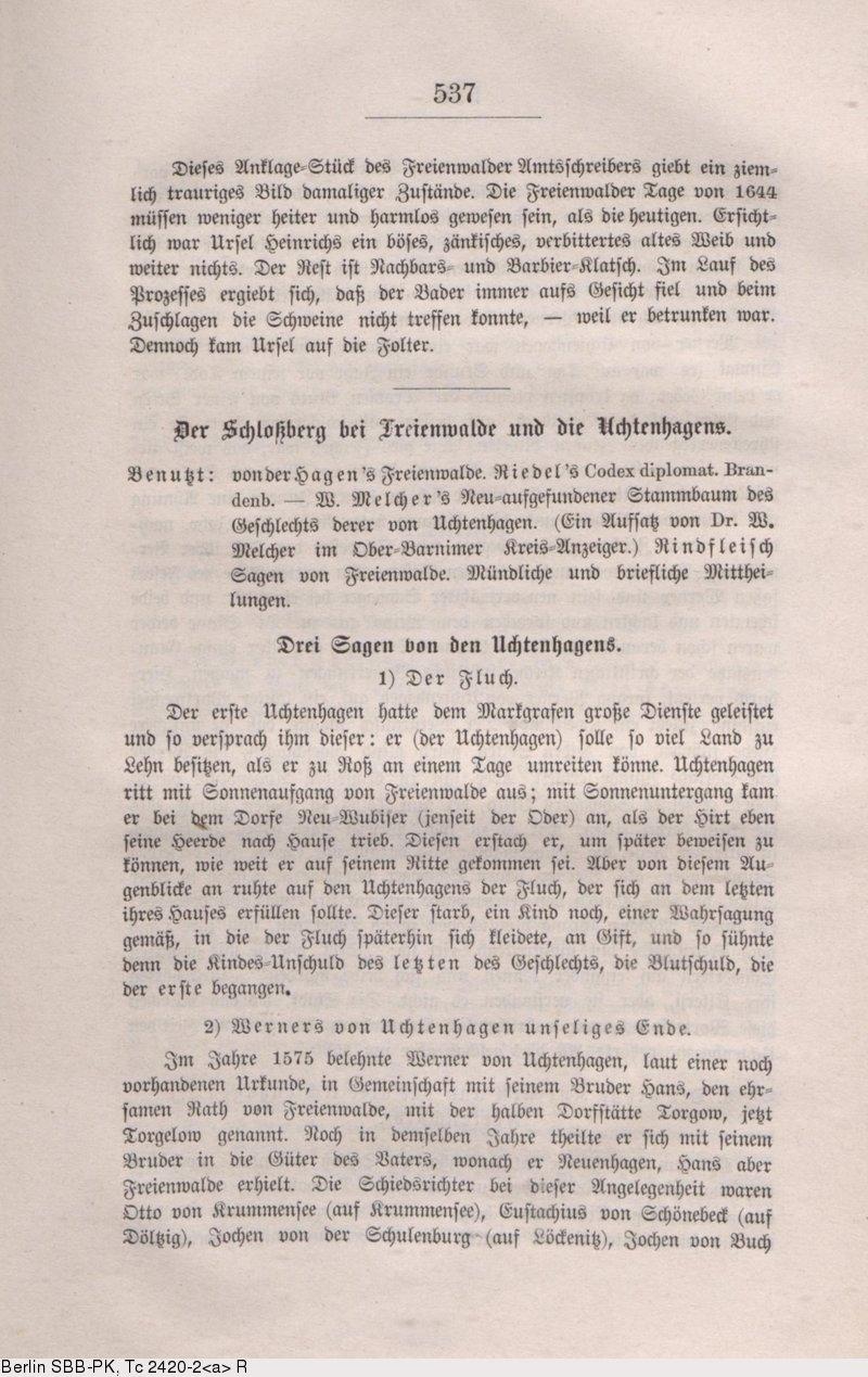 Deutsches Textarchiv Fontane Theodor Wanderungen Durch