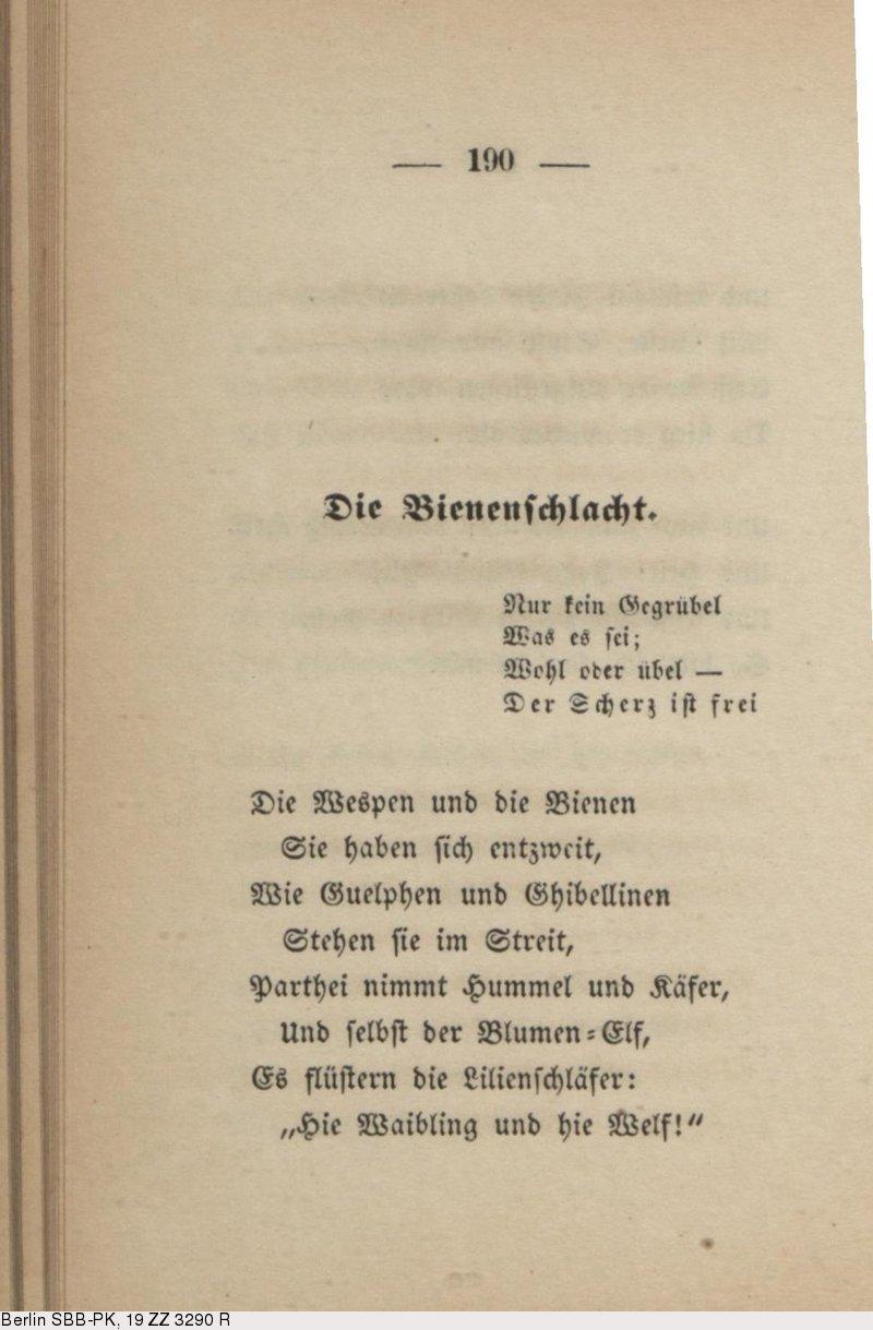 Deutsches Textarchiv Fontane Theodor Gedichte Berlin 1851