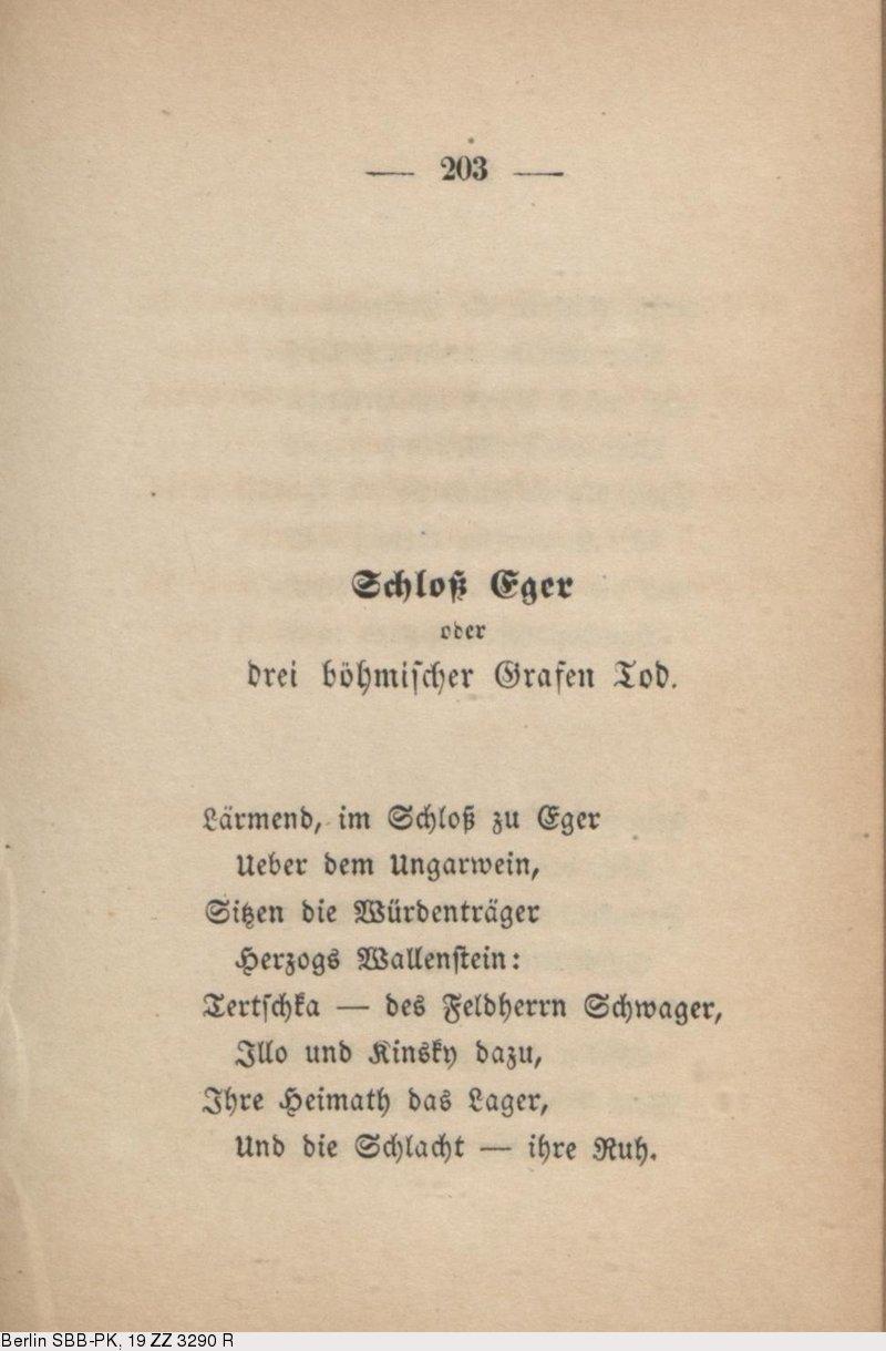Theodor fontane gedichte tod