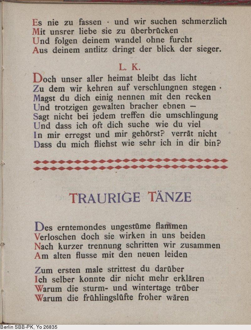 Deutsches Textarchiv – George, Stefan: Das Jahr der Seele. Berlin, 1897.