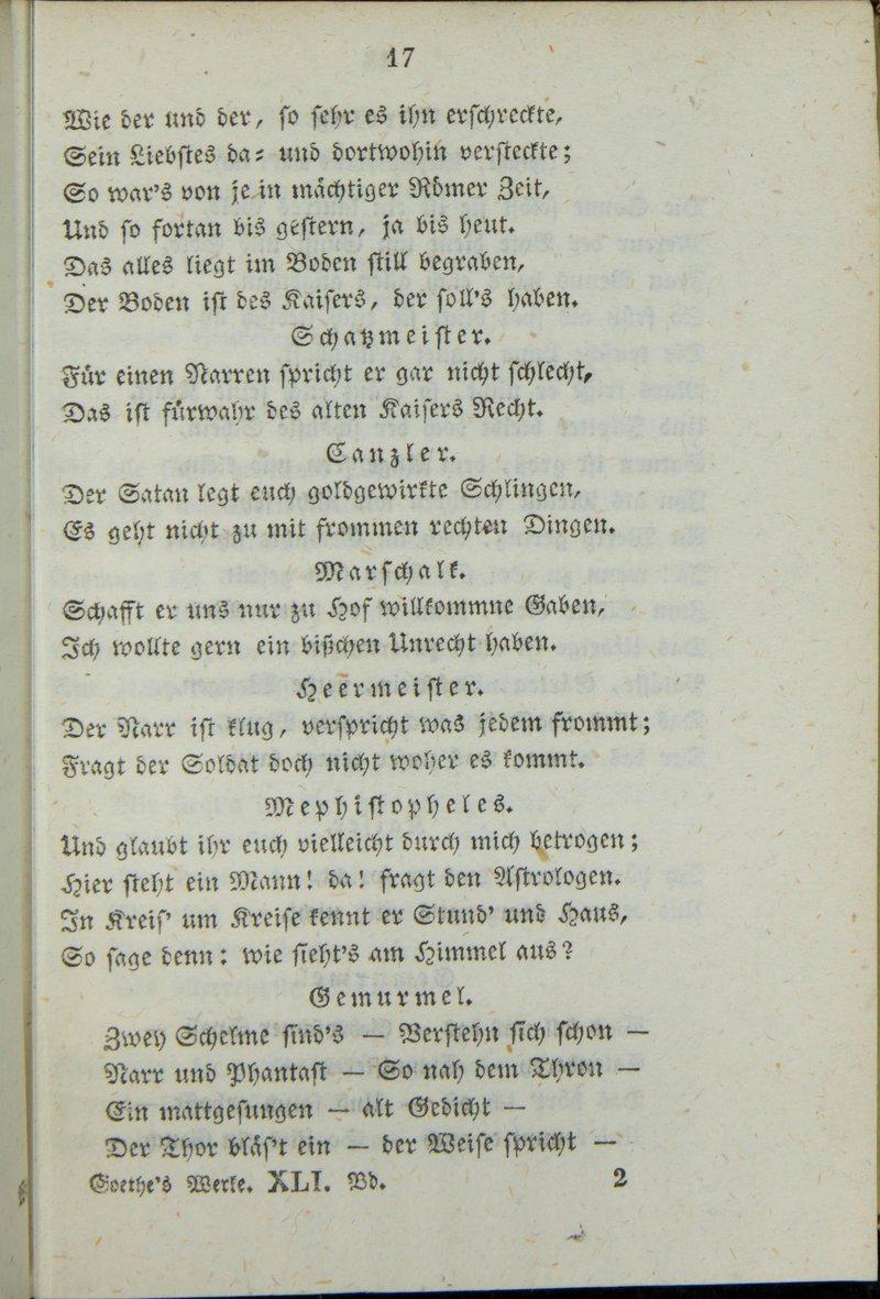 Faust gedichte