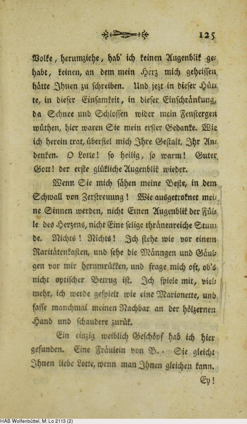 Deutsches Textarchiv Goethe Johann Wolfgang Von Die