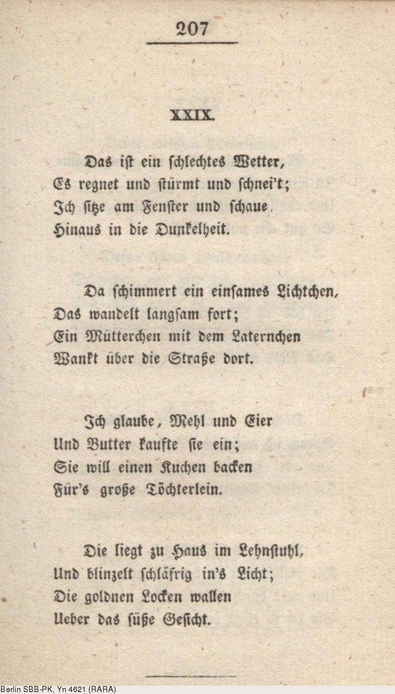 Deutsches Textarchiv Heine Heinrich Buch Der Lieder Hamburg 1827