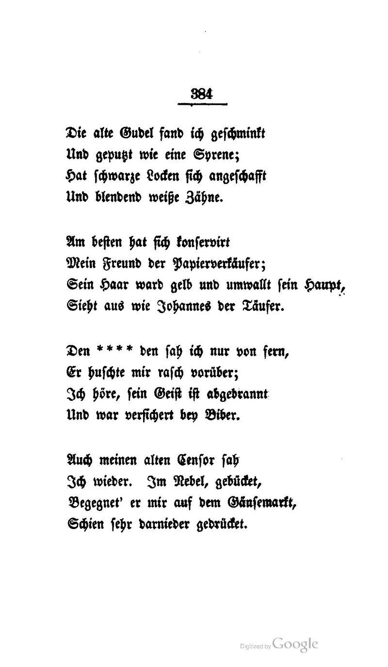 Heine gedichte texte