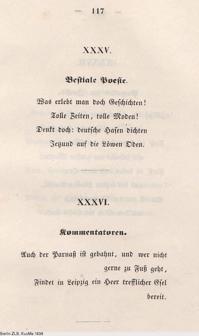 Deutsches Textarchiv Herwegh Georg Gedichte Eines