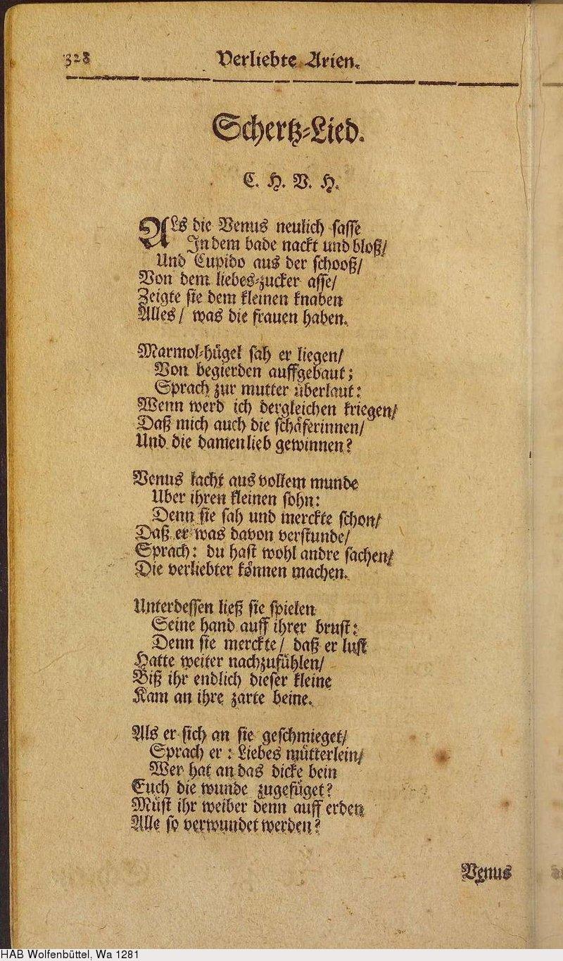 Deutsches Textarchiv Hoffmannswaldau Christian Hoffmann