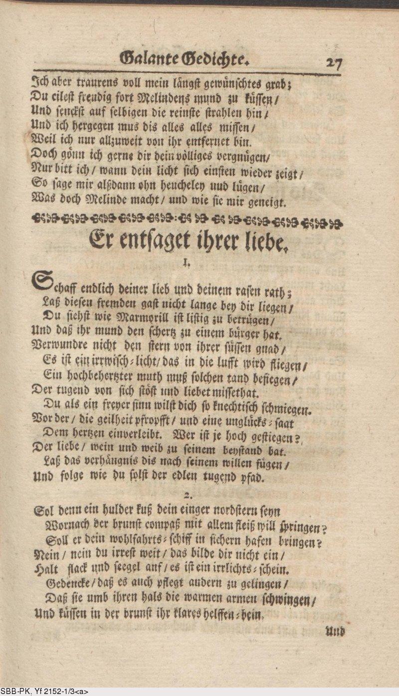 Deutsches Textarchiv Hofmannswaldau Christian Hofmann Von