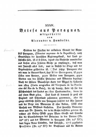 Briefe Alexander Von Humboldt : Deutsches textarchiv humboldt alexander von briefe aus