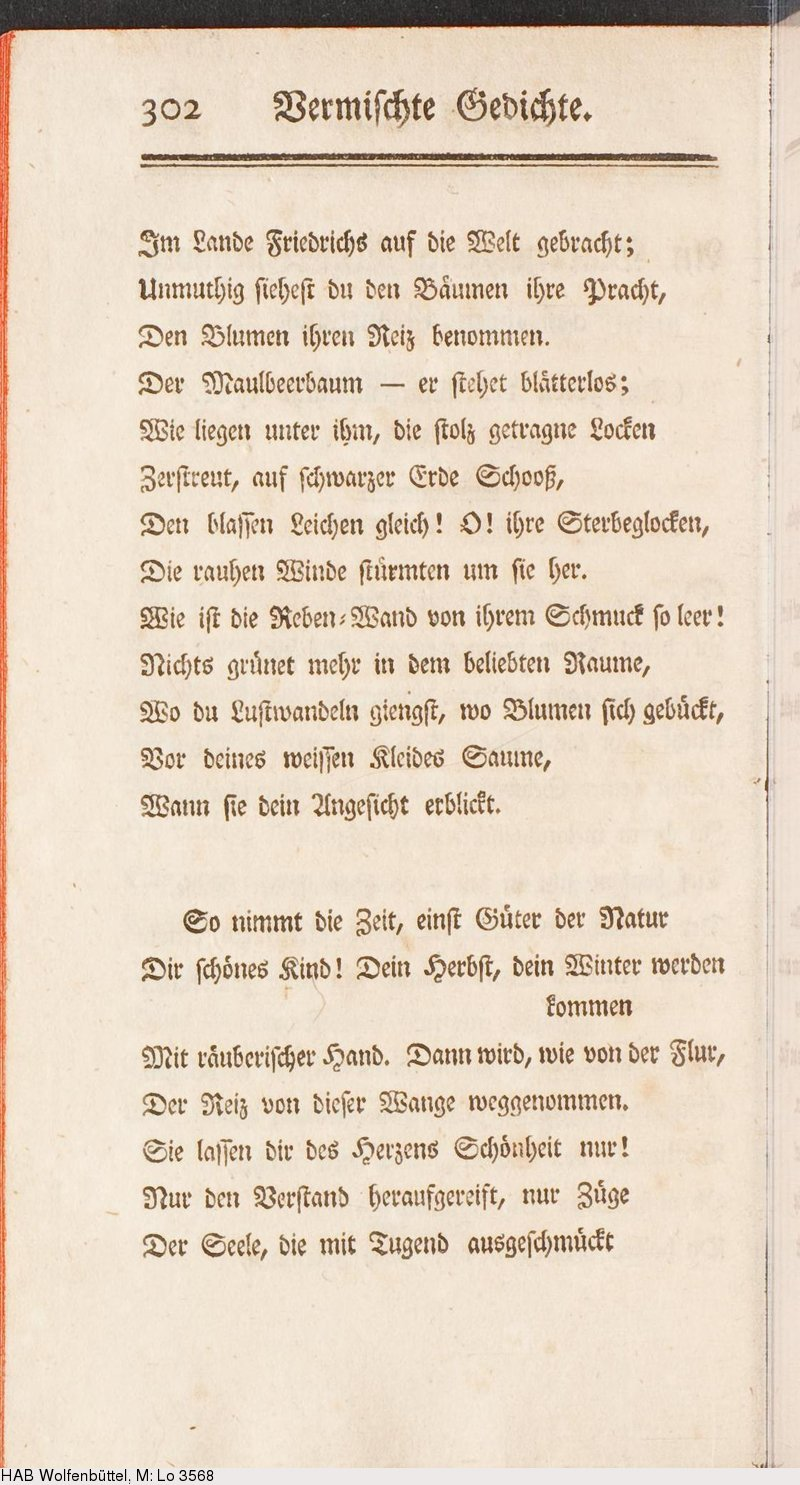 Deutsches Textarchiv Karsch Anna Luise Auserlesene