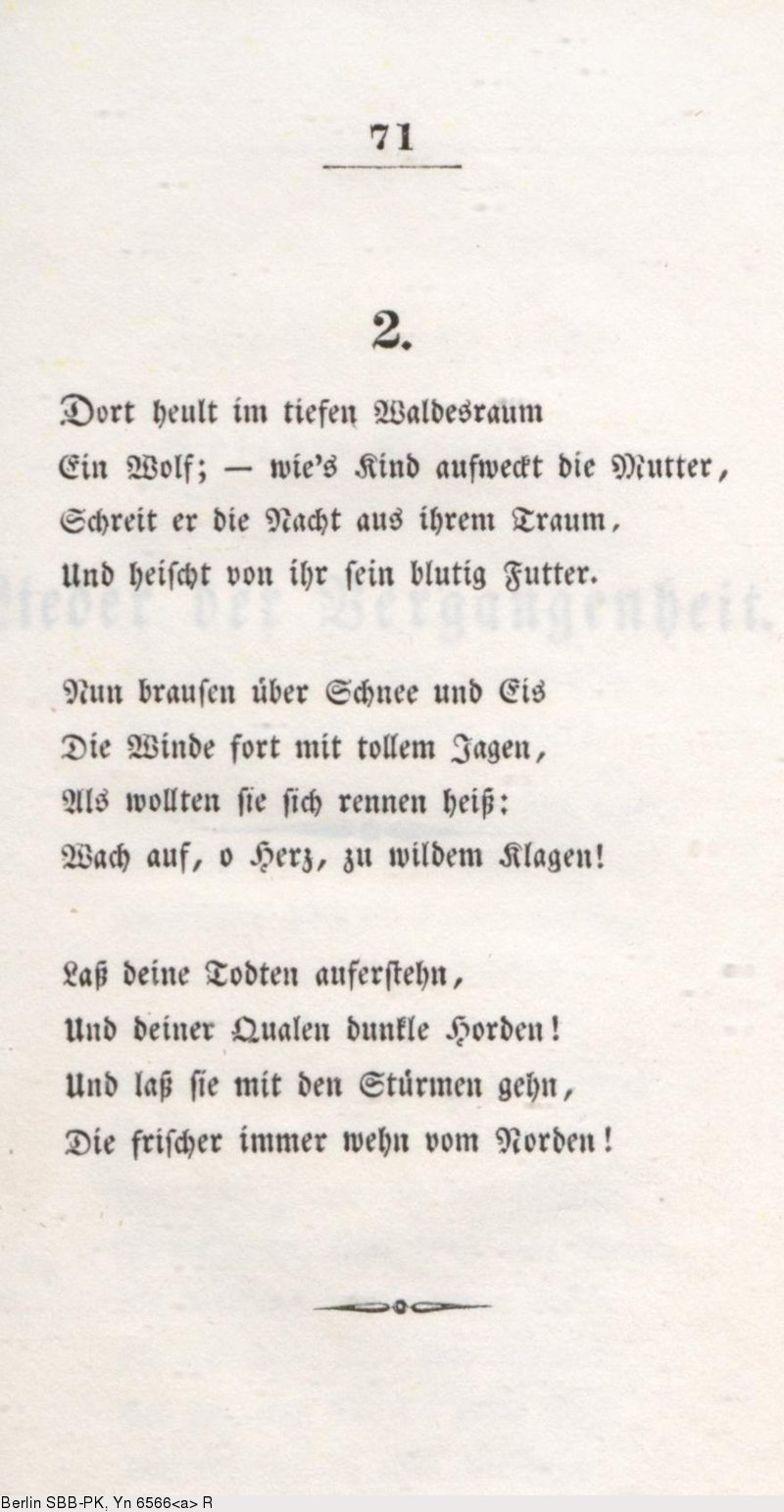 Deutsches Textarchiv Lenau Nikolaus Gedichte Stuttgart
