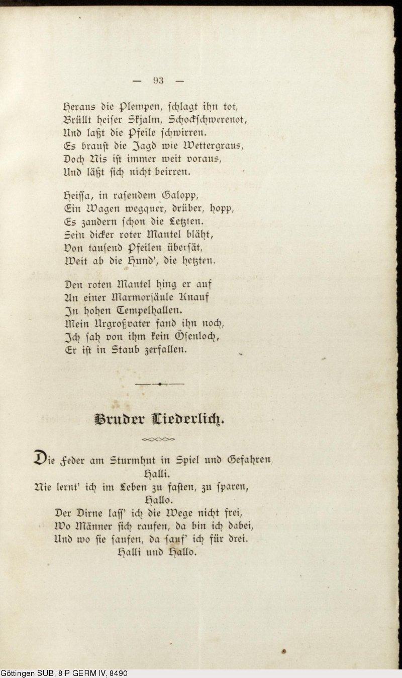 Deutsches Textarchiv Liliencron Detlev Von
