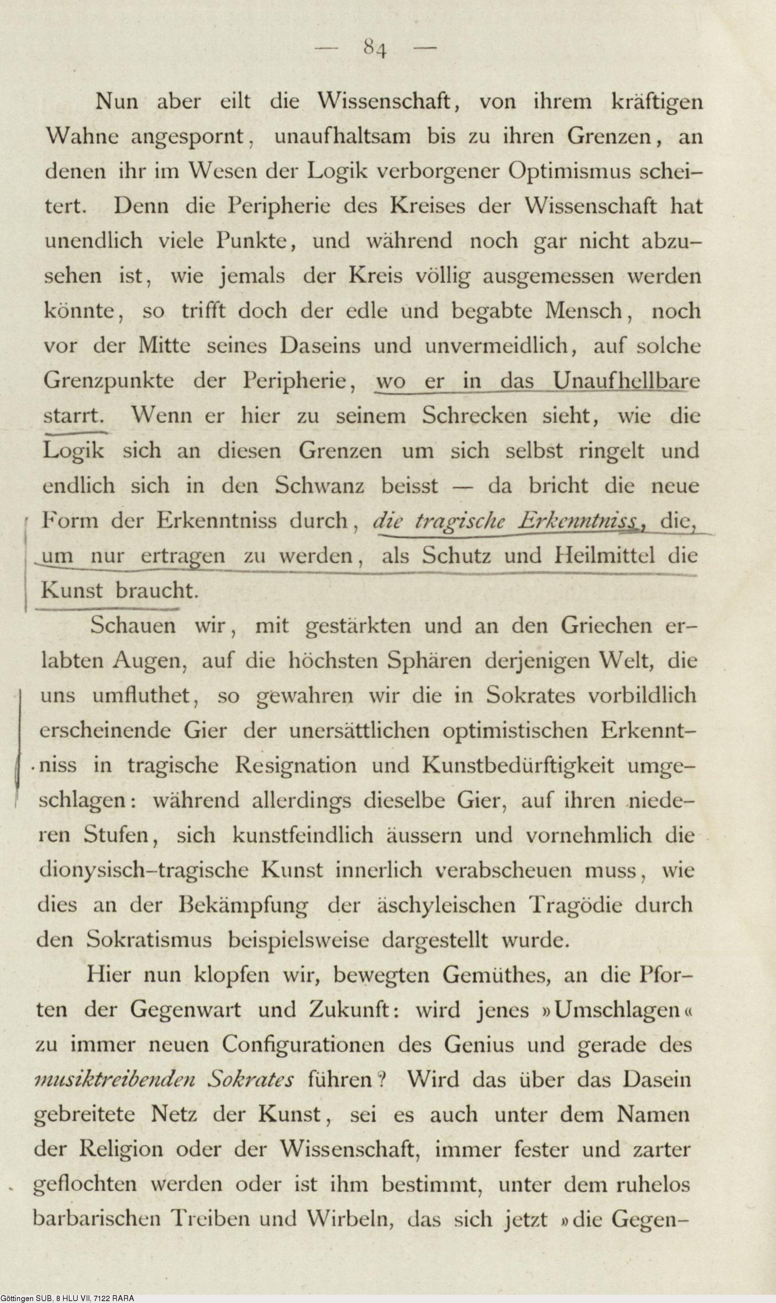 Deutsches Textarchiv Nietzsche Friedrich Die Geburt Der Tragodie