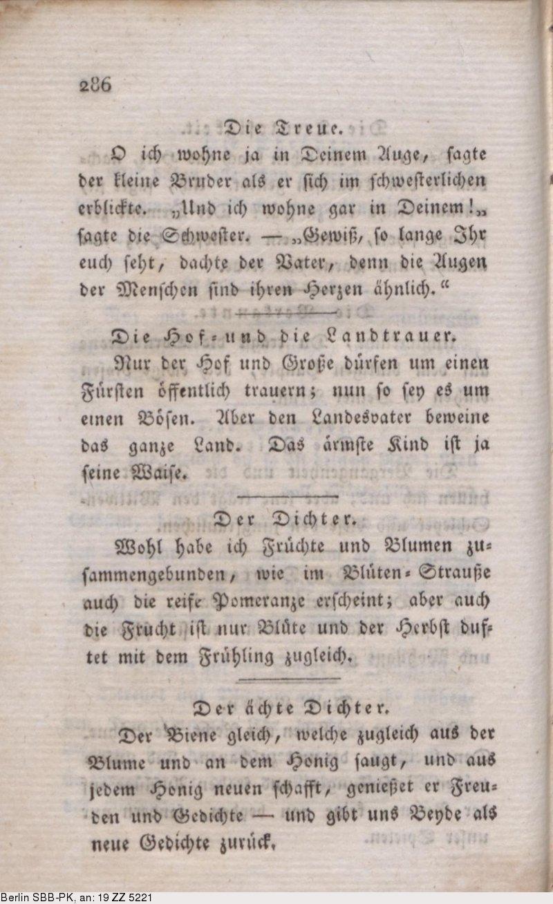 Deutsches Textarchiv Jean Paul D Katzenbergers Badereise
