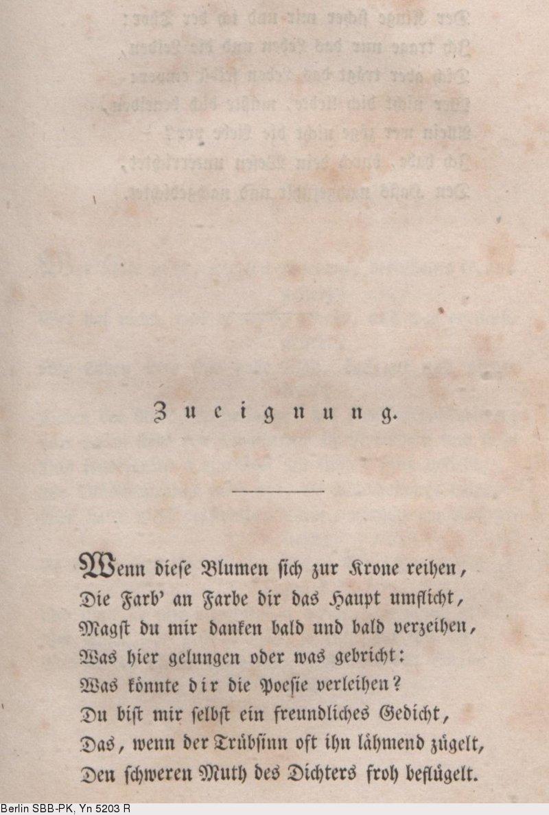 Deutsches Textarchiv Platen August Von Gedichte