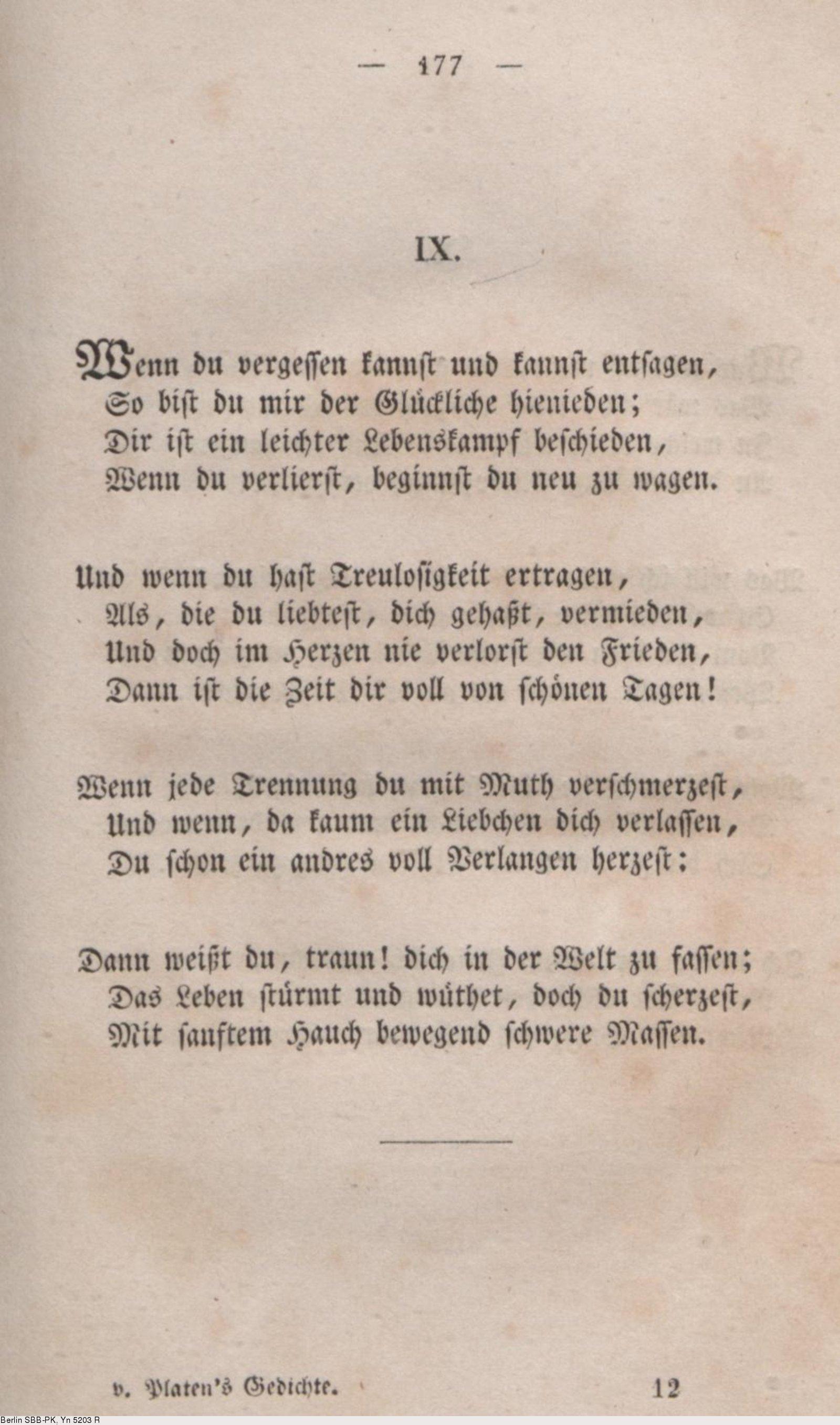Gedichte zur trennung auf zeit