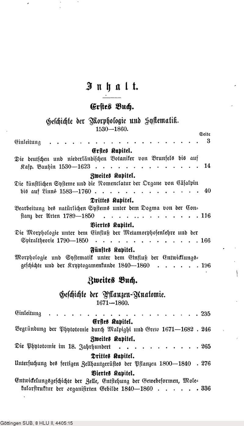 Deutsches Textarchiv – Sachs, Julius: Geschichte der Botanik ...