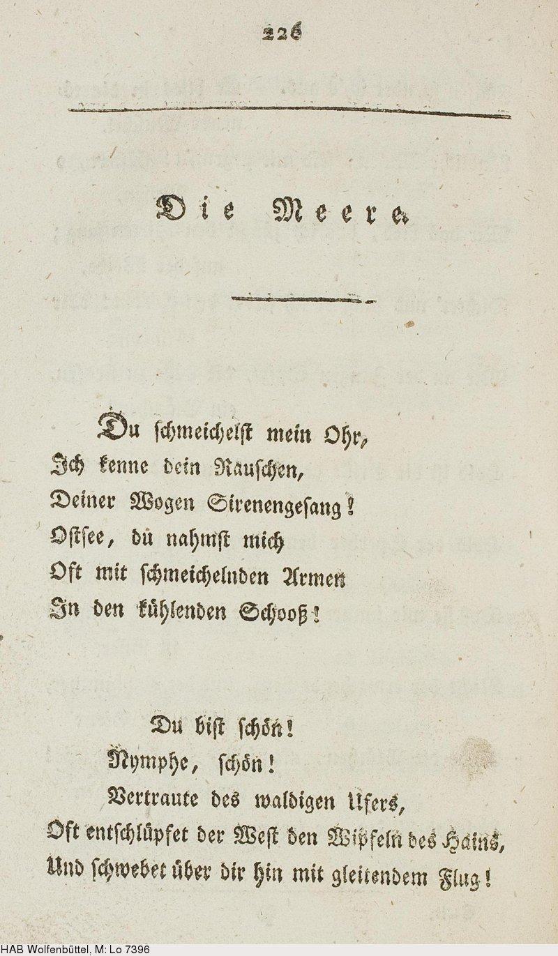 Deutsches Textarchiv Stolberg Stolberg Christian Zu