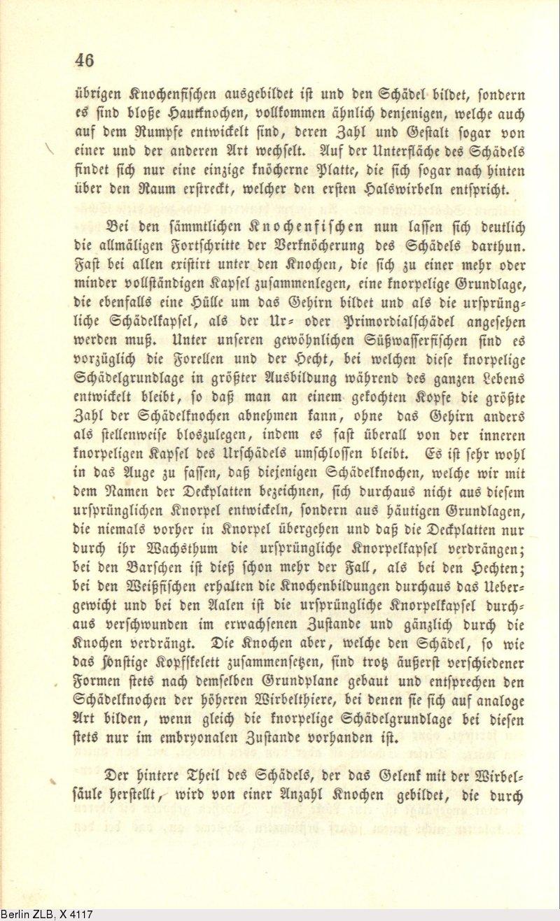 Deutsches Textarchiv – Vogt, Carl: Zoologische Briefe. Bd. 2 ...