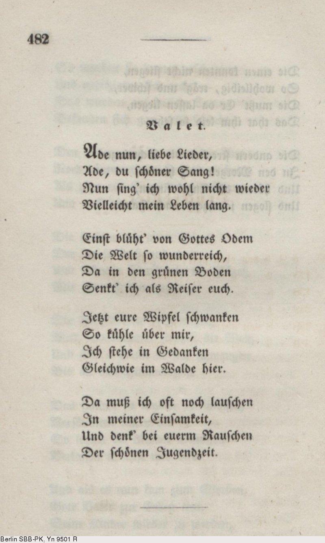 Gedicht liebe eichendorff