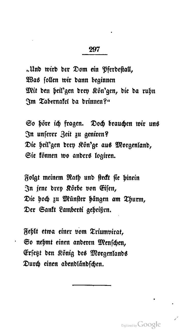 Heine gedicht fragen